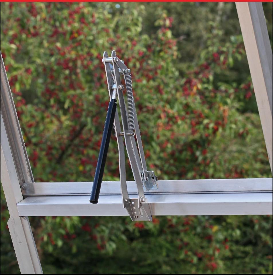 Ventilatiepakket aluminium of kleur