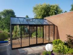 ACD prestige tuinkas R306XH 13.62m2 met dubbele zijdeur en houtenvloer